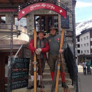 Nostalgie-Skiausflug 2016 in Saas Fee.